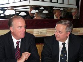 Paul Kieffer and Gunter Pistorius