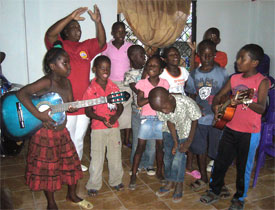 music instruction in Suriname