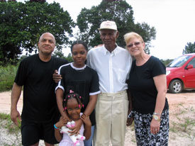 Baptism in Suriname