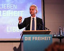 Geert Wilders in Berlin