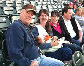 Birthday at the ballpark