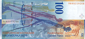 100 Swiss francs
