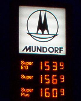 gas price in Mondorf
