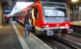 Heidelberg train station