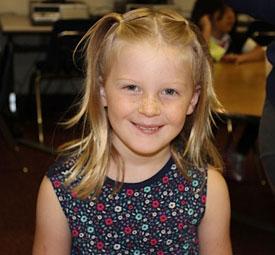 Maia starts school