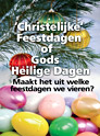 Christian festivals or God's Holy Days, Dutch version