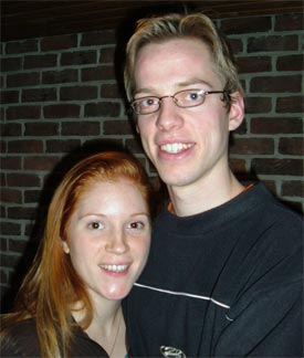 Julie and Maurits