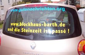 GN car banner