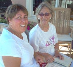 Karlina Ellis and Brigitte