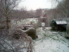snow in Troisdorf
