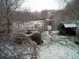 snow in Troisdorf