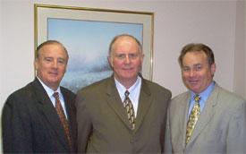 Paul Kieffer, Melvin Rhodes and Darris McNeely