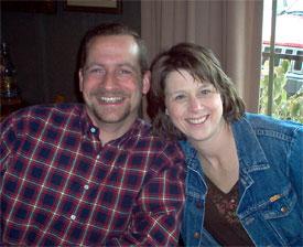 Matt and Lisa Fenchel in Cincinnati